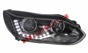 Focus'12(Four door) HEAD LAMP HID  LED 1