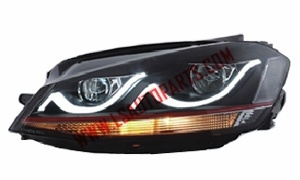 JETTA 2012 LED HEAD LAMP 3