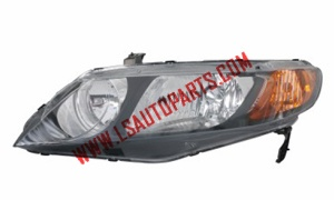 CIVIC'06-'11 4D USA HEAD LAMP