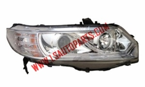 CIVIC'06-'11 2D USA PROJECTOR HEAD LAMP LED(H3/H1/3457A/LED)