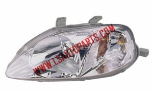 CIVIC'99-'00 USA HEAD LAMP(HB2/1157A)