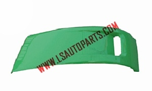 FUSO F380'08 FRONT BUMPER GARNISH UPPER SIDE