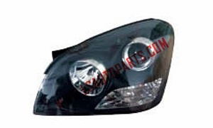 OPTIMA'06 HEAD LAMP BLACK LHD