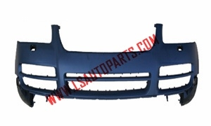 TOUAREG'03-'07 FRONT BUMPER WITH  SPRAY COVER