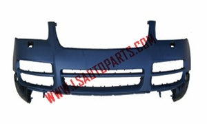TOUAREG'03-'07 FRONT BUMPER WITHOUT  SPRAY COVER