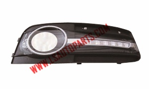 A4(B8)'07-'12 REFIT FOG LAMP COVER(WITH
