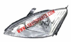 FOCUS'00-'04 Headlamp chromed/clear lens H4