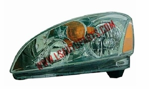 ALTIMA'02-'04 Headlamp chromed/amber reflector H1/HB3/P21/5w