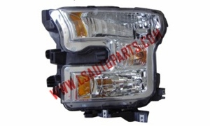 PICK UP'15- Headlamp  chromed/Amber reflector H11 /HB3/7444/W5W