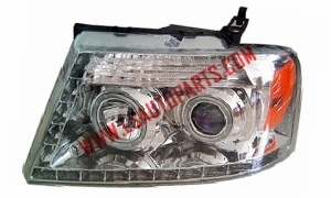 PICKUP F150'04-'08 PROJECTOR HEAD LAMP H3/H1/3157A/LED
