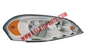 IMPALA'06- Headlamp chromed/amber reflector H11 /H9/3157A/W5W