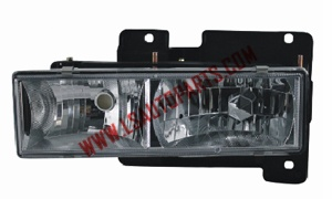 CHEVROLET C10'88'-'02 Headlamp Chromed/clear lens