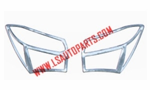COROLLA'14 TAIL LAMP CASE(CHROMED)