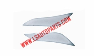 COROLLA SEDAN'03 4D HEAD LAMP MOULDING(SILVER)