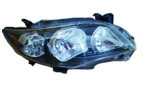 COROLLA USA '10-'13 HEAD LAMP BLACK