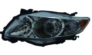 COROLLA'09 USA HEAD LAMP WHITE LED