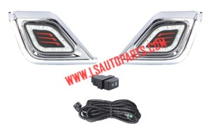 D-MAX'12-13 FOG LAMP KIT DRL