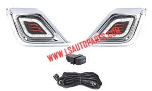 D-MAX'12-13 FOG LAMP KIT DRL LED