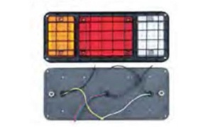 65 LED Trailer Truck Plastic Tail Light