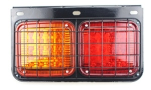 40 LED Trailer Truck Tail Light with Iron Net