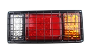 40 LED Tail Light with Iron Net