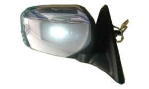 L200'05-'12 SIDE MIRROR ELECTRIC CHROMED WITHOUT LIGHT
