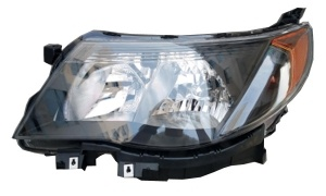 FORESTER'09 HEAD LAMP(USA TYPE)(Clear Lens/Jdm Black / Manual)