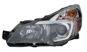 OUTBACK'13-'14 USA HEAD LAMP(USA TYPE)(Clear Lens/Jdm Black   / Manual)